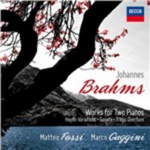 CD Musica per 2 pianoforti di Johannes Brahms