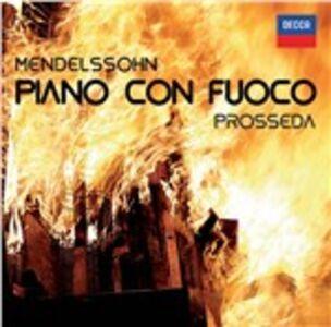CD Piano con fuoco di Felix Mendelssohn-Bartholdy