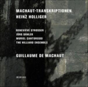 CD Machaut-Transkriptionen