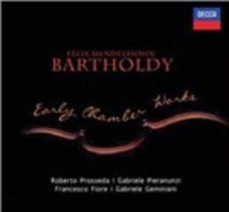 CD Musiche da camera del periodo giovanile di Felix Mendelssohn-Bartholdy