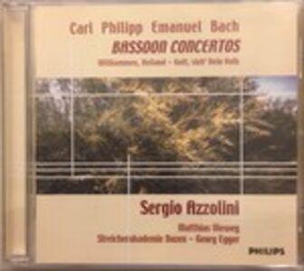 CD Concerti per fagotto - Wilkommen, Heiland! - Gott Sieh' Dein Volk di Carl Philipp Emanuel Bach