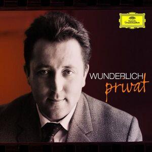 Foto Cover di Wunderlich Privat, CD di Fritz Wunderlich, prodotto da Deutsche Grammophon
