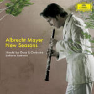 New Seasons - CD Audio di Albrecht Mayer,Georg Friedrich Händel,Sinfonia Varsovia