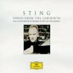 Vinile Songs from the Labyrinth. Music by John Dowland Sting