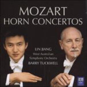 CD Horn Concertos di Wolfgang Amadeus Mozart