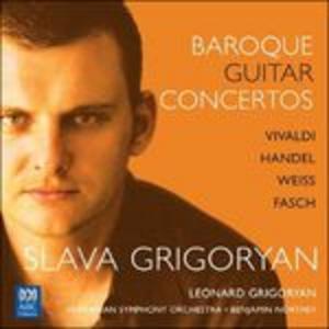 CD Baroque Guitar Concertos di Slava Grigoryan