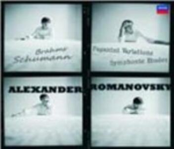 Studi sinfonici op.13 - Variazioni su un tema di Paganini op.35 - CD Audio di Robert Schumann,Alexander Romanovsky