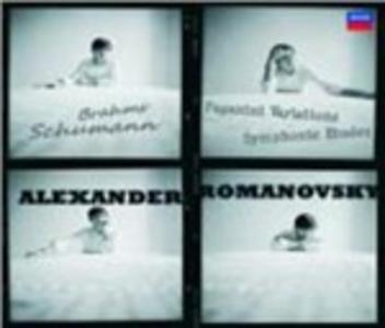CD Studi sinfonici op.13 - Variazioni su un tema di Paganini op.35 di Robert Schumann