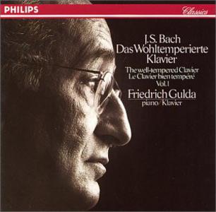 CD Il clavicembalo ben temperato (Das Wohltemperierte Clavier) di Johann Sebastian Bach
