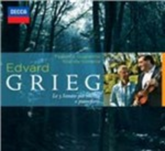 CD Sonate per violino e pianoforte di Edvard Grieg