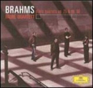CD Quartetti con pianoforte n.1, n.3 di Johannes Brahms