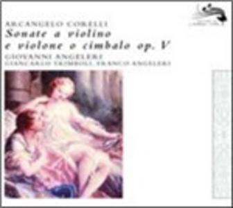 CD Sonate a violino e violone o cembalo op.5 di Arcangelo Corelli