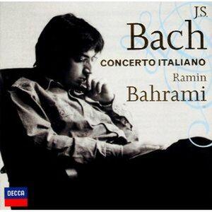 CD Concerto italiano di Johann Sebastian Bach
