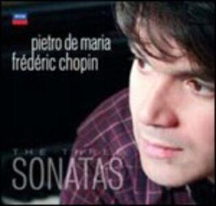 Foto Cover di Le 3 Sonate, CD di Fryderyk Franciszek Chopin,Pietro De Maria, prodotto da Universal Classic