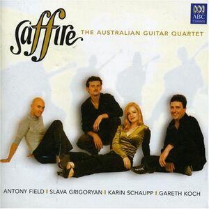 CD Australian Guitar Quartet di Saffire