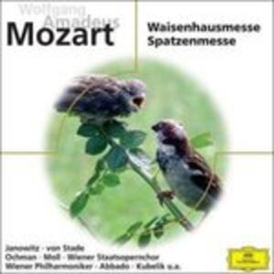 Waisenhaus - - Spatzenmesse - CD Audio di Wolfgang Amadeus Mozart