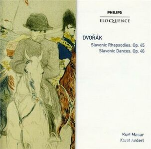 CD Slavonic Rhapsodies 1 - 3 di Antonin Dvorak