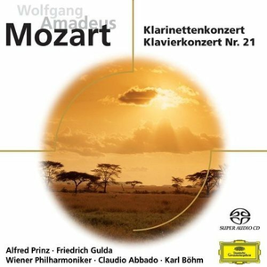 CD Konzert fur Klarinette K di Wolfgang Amadeus Mozart