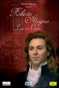 Film Roberto Alagna. Live in Paris