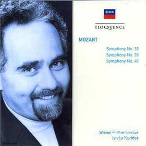 CD Sinfonie N.33, N.39, N.40 di Wolfgang Amadeus Mozart