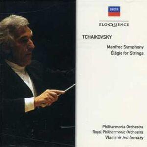 CD Manfred Symphony - Elegie di Pyotr Il'yich Tchaikovsky
