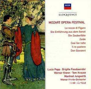 Foto Cover di Opera Festival, CD di Wolfgang Amadeus Mozart, prodotto da Eloquence