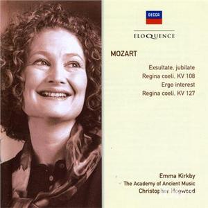 CD Exsultate, Jubilate di Wolfgang Amadeus Mozart