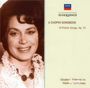 CD Songbook di Fryderyk Franciszek Chopin