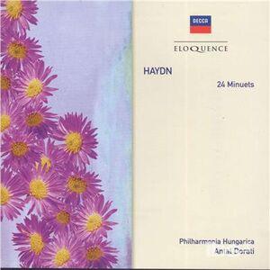 CD 24 Minutes di Franz Joseph Haydn