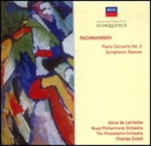 Concerto per pianoforte n.2 - Danze sinfoniche - CD Audio di Sergej Vasilevich Rachmaninov,Alicia de Larrocha,Charles Dutoit,Philadelphia Orchestra,Royal Philharmonic Orchestra