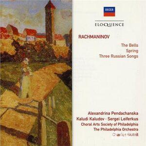 Foto Cover di Bells - Spring, CD di Sergei Vasilevich Rachmaninov, prodotto da Eloquence