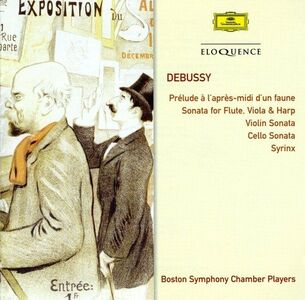 CD Musica da Camera di Claude Debussy