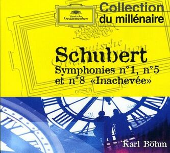 CD Sinfonie n.1, n.5, n.8 di Franz Schubert