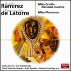 CD Misa Criolla / Misa Flamenca Ariel Ramirez , Fernandes de Latorre