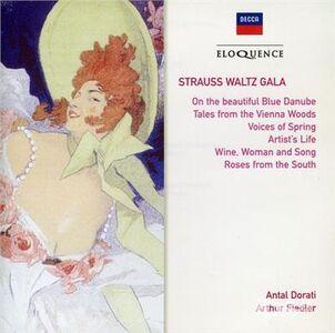 Foto Cover di Waltz Gala, CD di Johann Strauss, prodotto da Eloquence