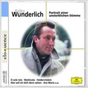 Portrait - CD Audio di Fritz Wunderlich