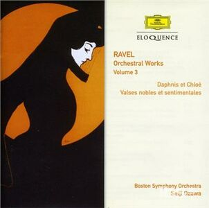 CD Orchestral Works 3 di Maurice Ravel