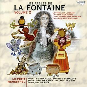 De La Fontaine 2. Petit me - CD Audio
