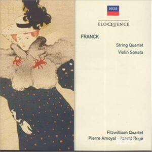 CD Quartetto per Archi D - Major di César Franck