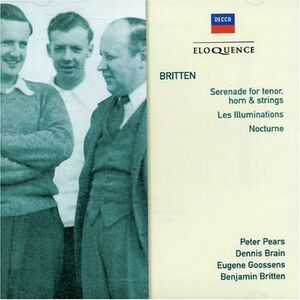 CD Serenade for Tenors di Benjamin Britten