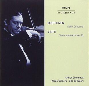 CD Beethoven. Violin Concert di Ludwig van Beethoven