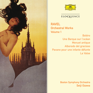 CD Orchestral Works 1 di Maurice Ravel