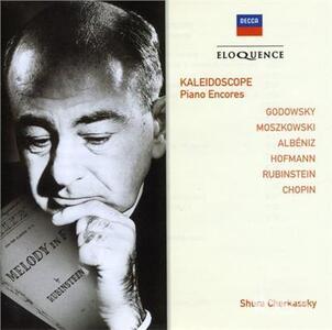 Kaleidoscope. Piano Encor - CD Audio di Shura Cherkassky