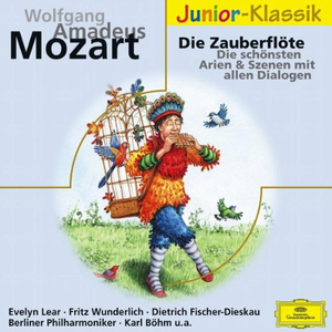 CD Die Zauberflote di Wolfgang Amadeus Mozart