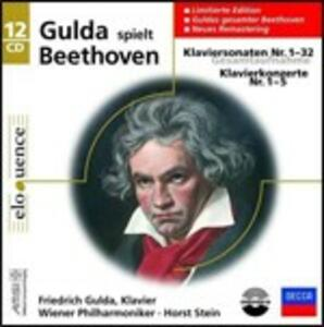 Sonate per pianoforte - Concerti per pianoforte - CD Audio di Ludwig van Beethoven,Friedrich Gulda