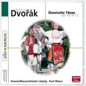 CD Slawische Taenze op.46&72 di Antonin Dvorak
