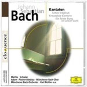 CD Cantate BWV56, BWV80, BWV106 di Johann Sebastian Bach