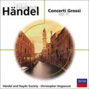 Foto Cover di Concerti grossi op.3, CD di Georg Friedrich Händel, prodotto da Eloquence