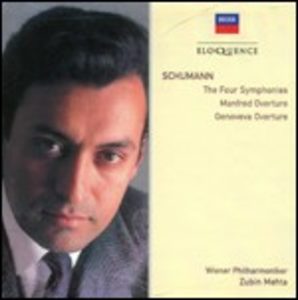 CD Sinfonie complete - Manfred - Genoveva di Robert Schumann