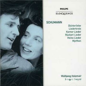 CD Lieder di Robert Schumann